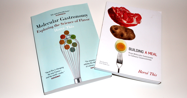 Hervé This - Molecular gastronomy og Building a meal