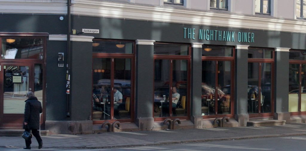 The Nighthawk diner Oslo