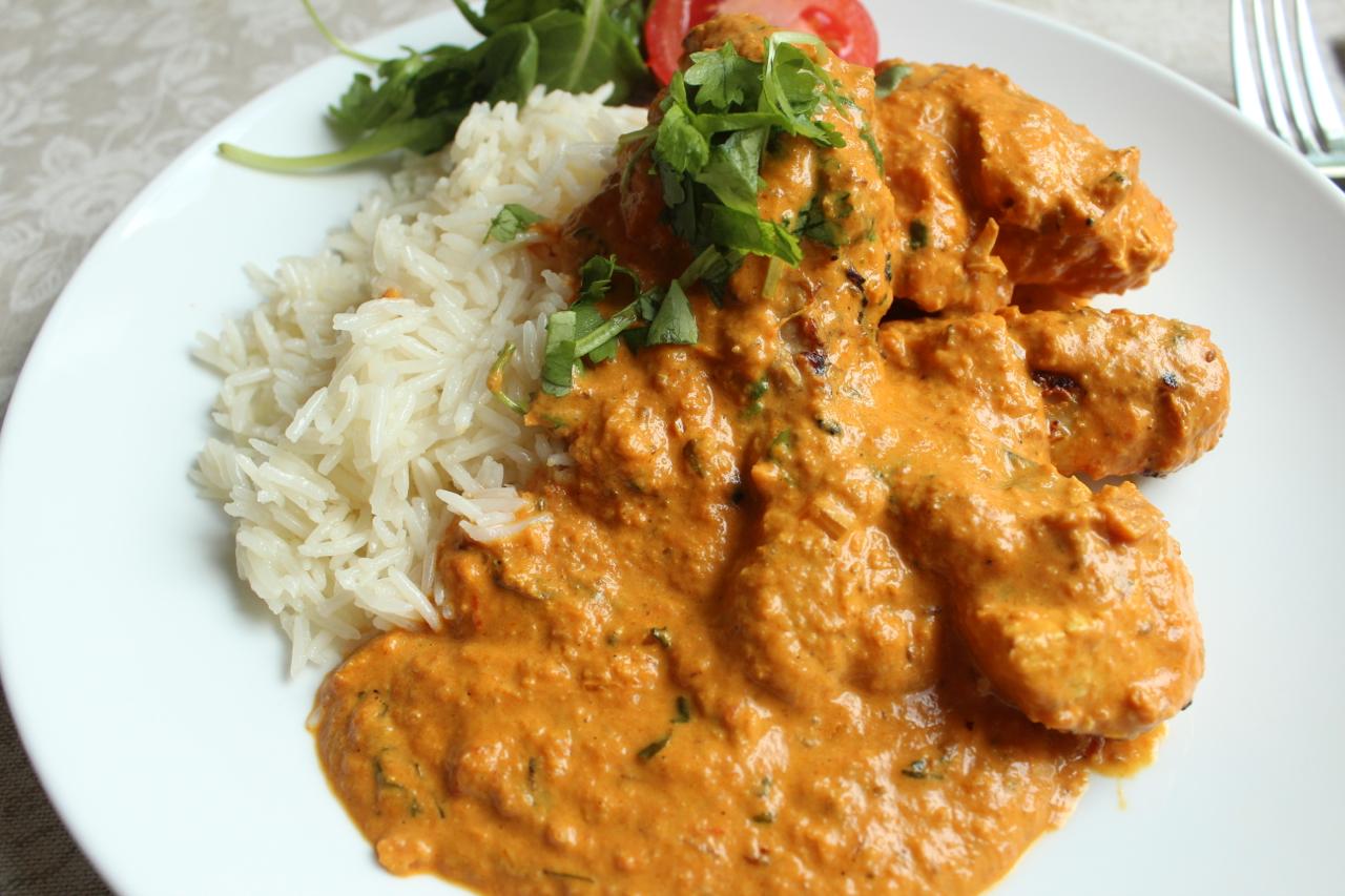 enkel indisk mat