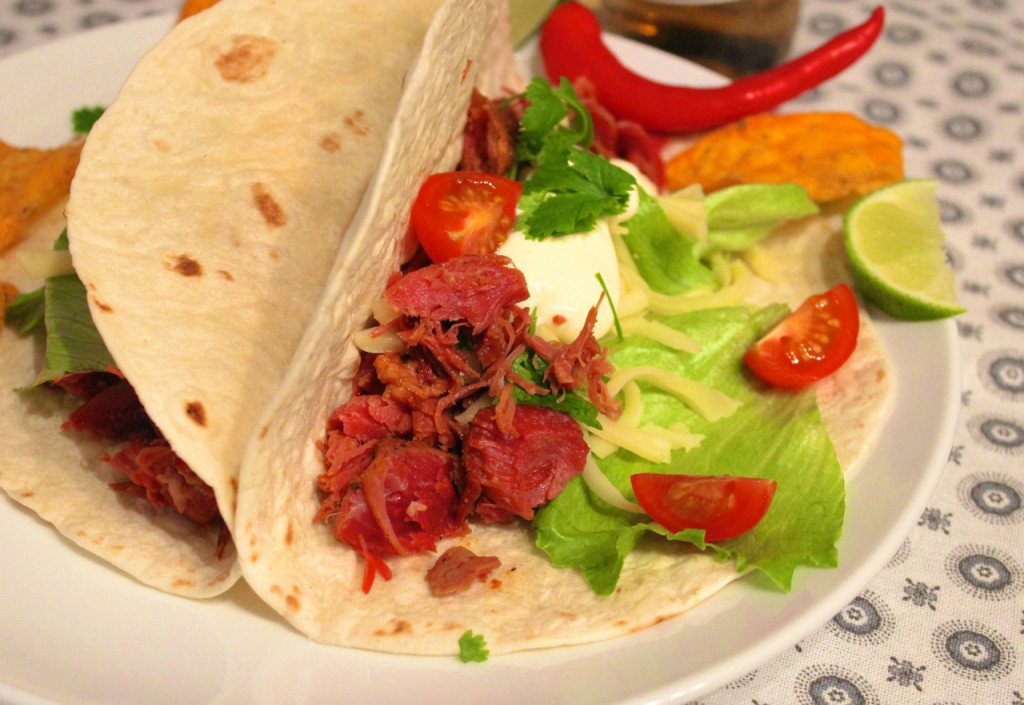 crock-pot slow cooker taco norsk