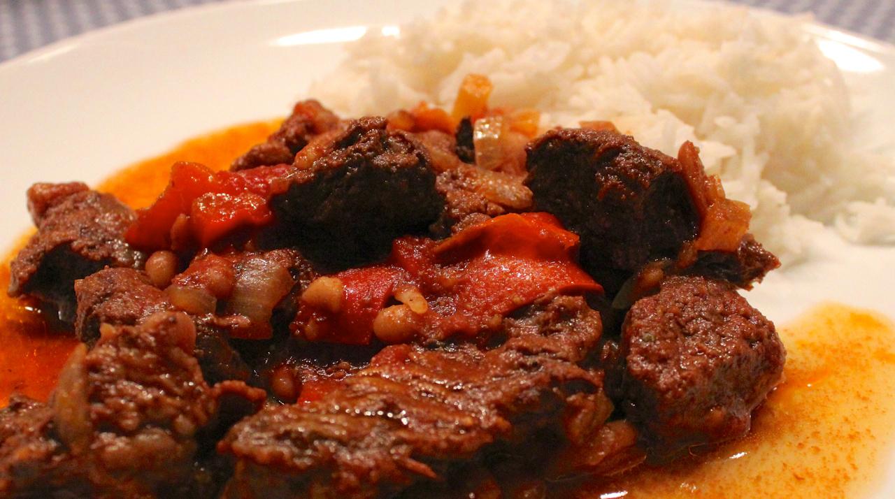 chili con carne av h 248 yrygg i cooker crock pot led oss inn i fristelse