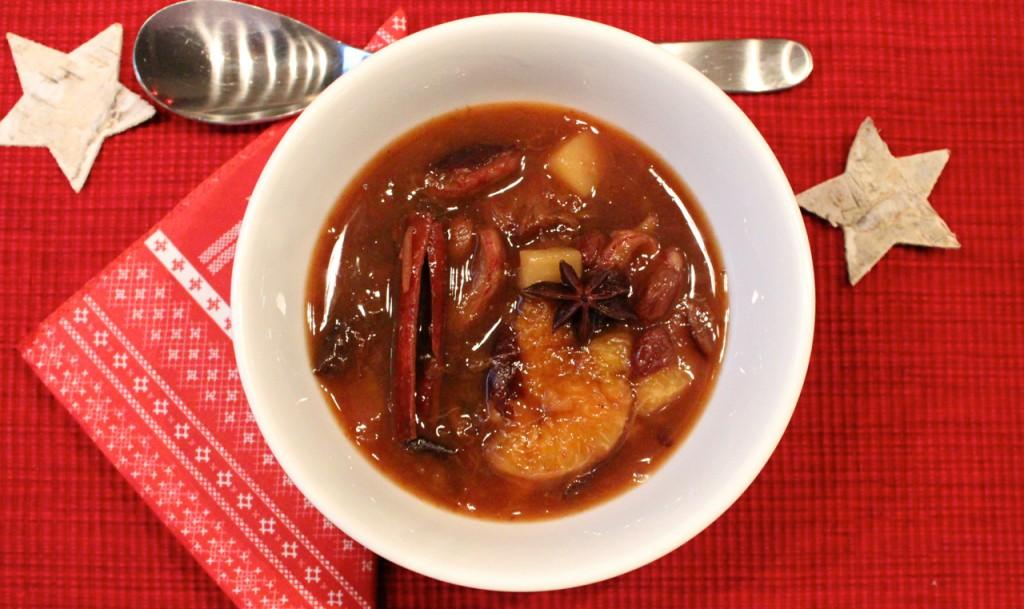 Fruktsuppe til jul