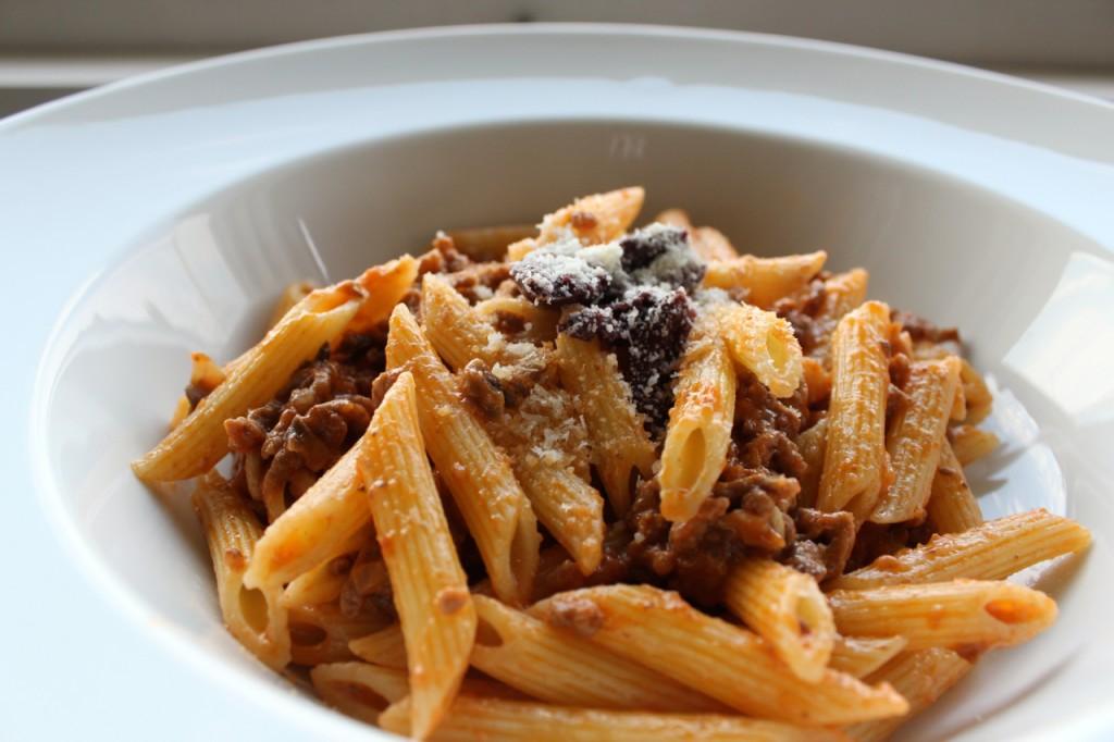 Gazpacho pasta