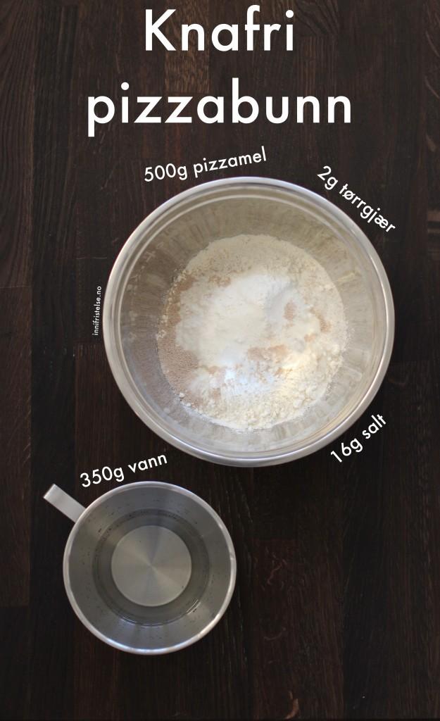 Knafri pizzabunn