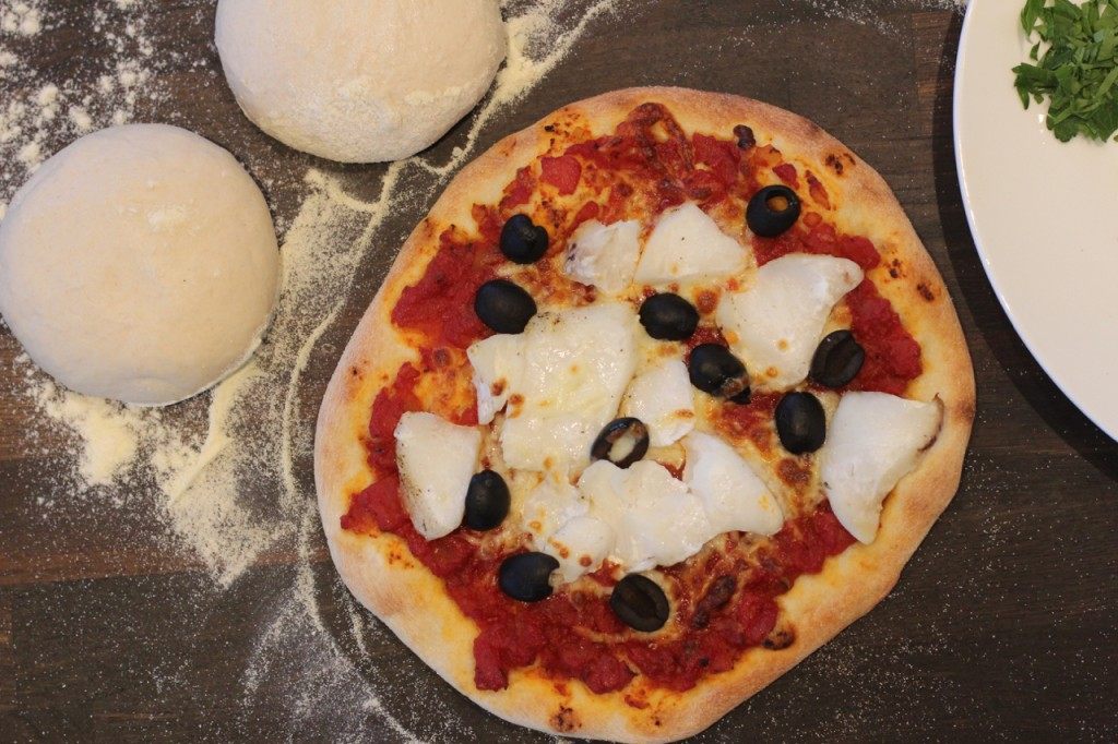 Bacalaopizza
