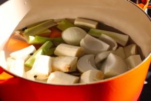 Koke grønnsakskraft
